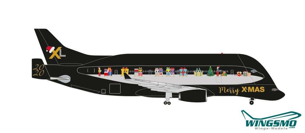 Christmas At Wings 2020 Herpa Wings Christmas 2020 Airbus Beluga XL 1:500 534505   WINGSMO