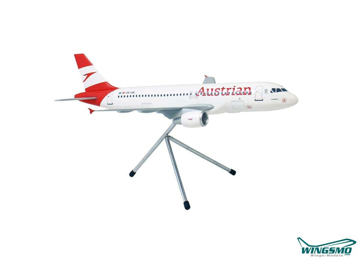 Limox Wings Austrian Airlines New Livery Airbus A320-200 LW100AUA002