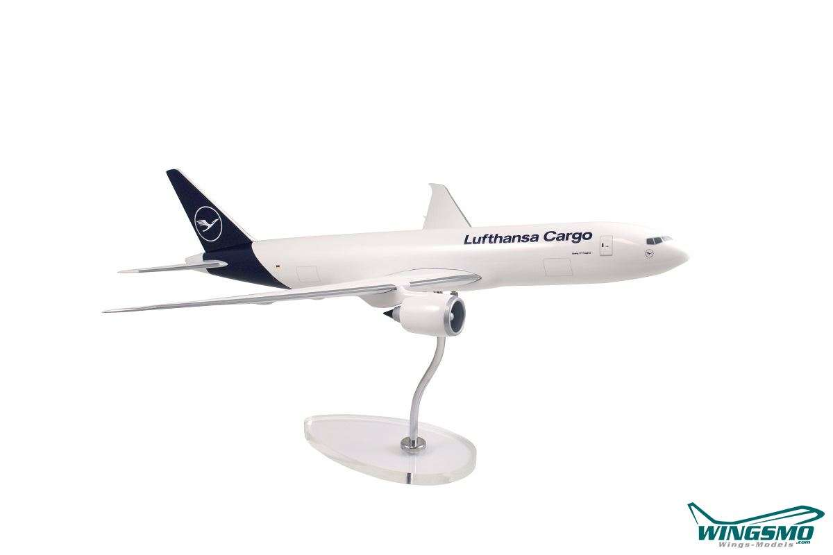 Limox Wings Lufthansa Cargo New Livery Boeing 777F 1:100 LW100DLH004
