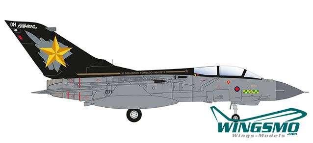 Herpa Wings Panavia Tornado GR.4 Tornado Farewell No. 31 Squadron 570527