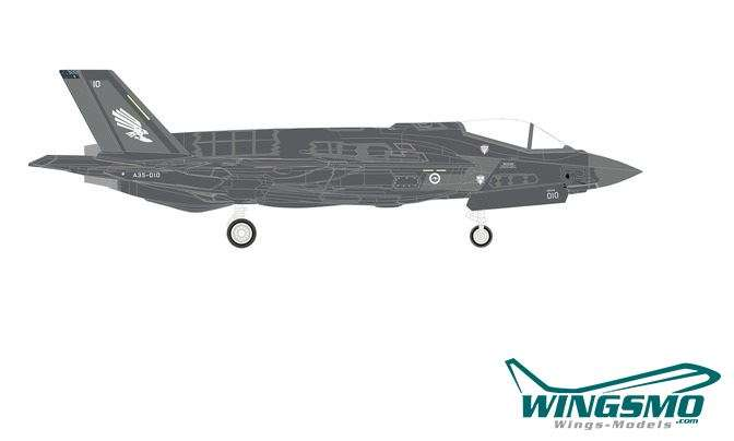 Herpa Wings Royal Australian Air Force Lockheed Martin F-35A - Lightning II - No. 3 Squadron 570534