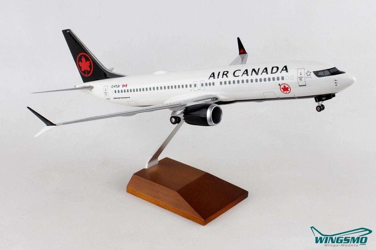 Skymarks Air Canada Boeing 737-MAX8 1:100 SKR8279