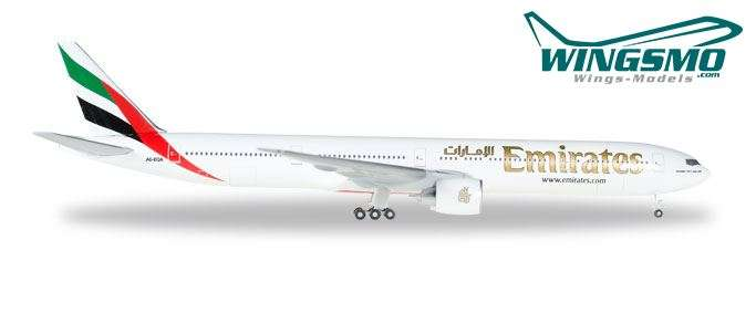 Herpa Wings 1:200 Boeing 777-300ER Emirates 557467