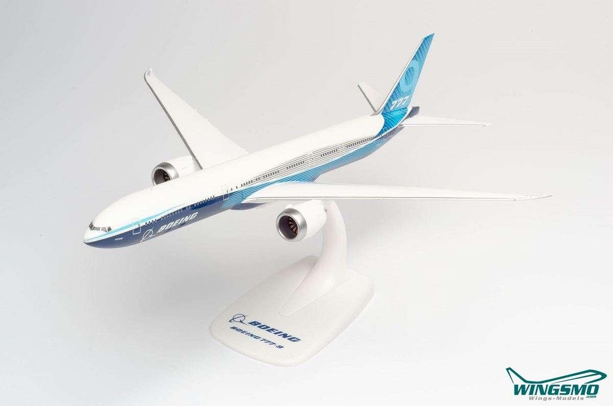 herpa wings snap fit 1:200 Boeing 777-9 N779XW 612630 #world-of-wings