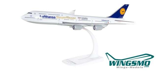 Herpa Wings Lufthansa Boeing 747-8 Intercontinental Siegerflieger Olympia Rio 2016 611428 Snap-Fit