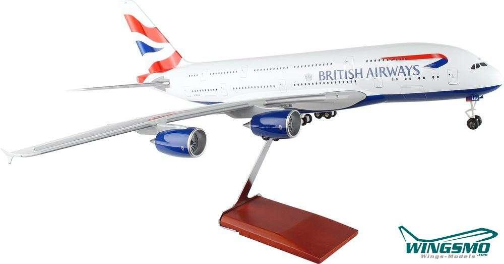 Skymarks Wings Airbus A380 British Airways Scale 1/100 w/Gear SKR8504