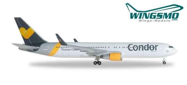 HERPA Wings 527521-001 Condor Boeing 767-300ER Sunny Heart 1//500 Scale Model