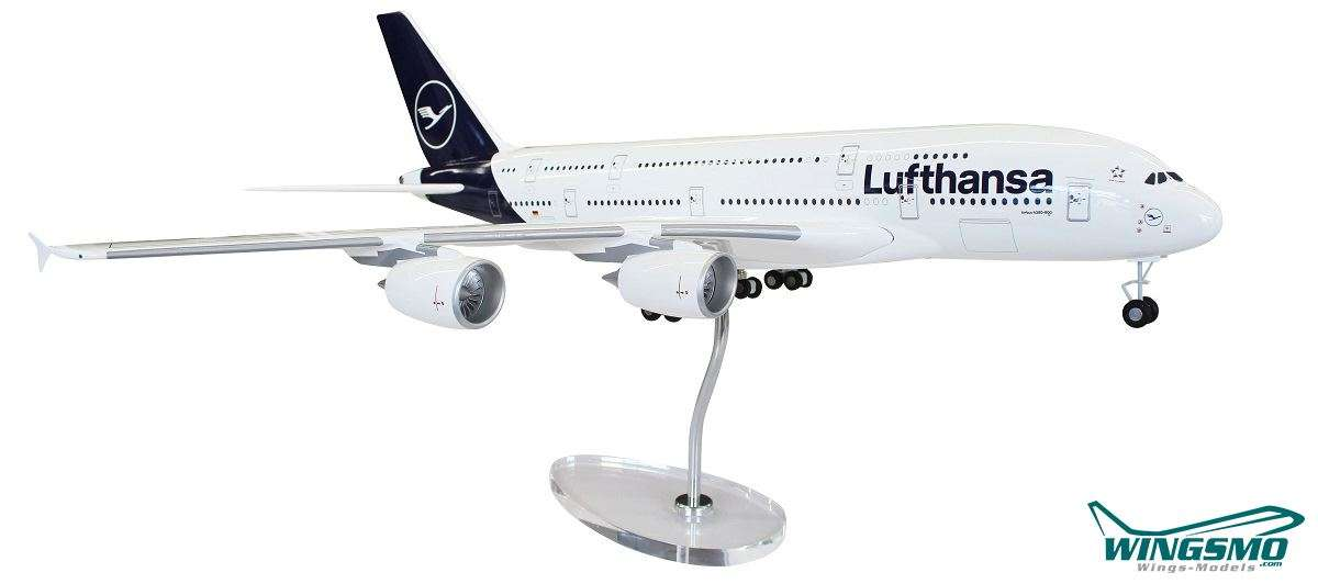Limox Wings Lufthansa New Livery Airbus A380-800 1:100 LW100DLH002