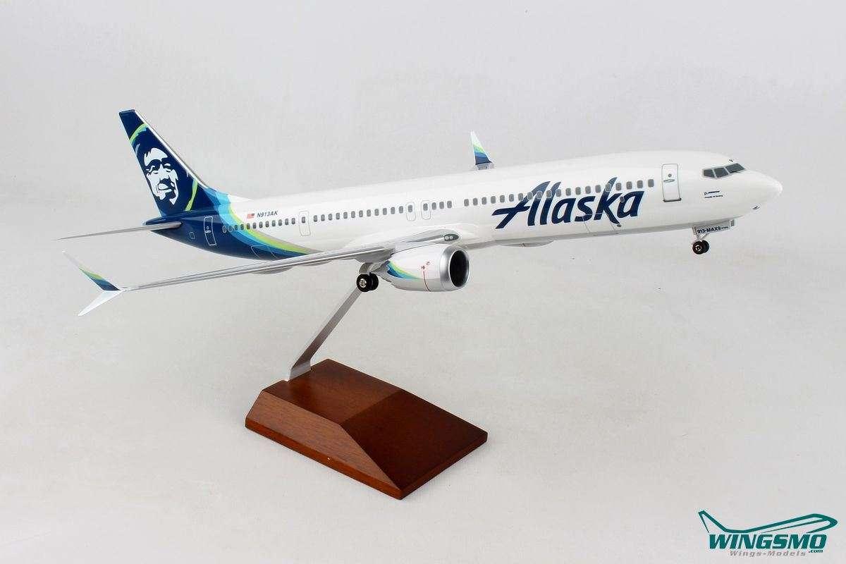 Skymarks Alaska Airlines Boeing 737-MAX9 1:100 SKR8278
