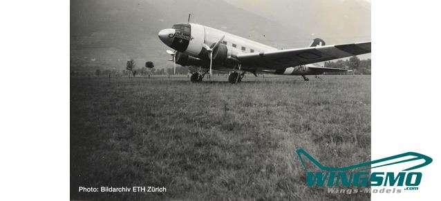 Herpa Wings Swissair Douglas DC-3