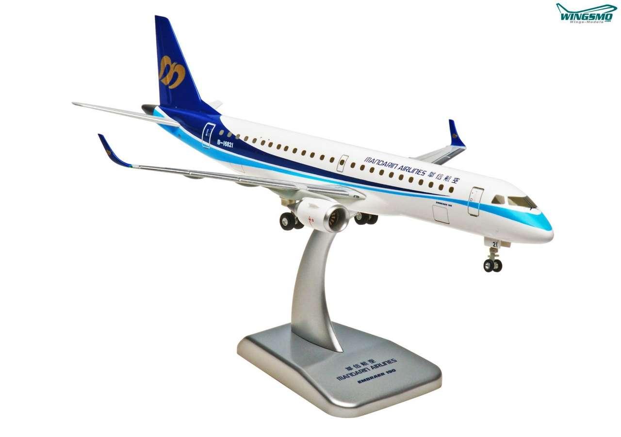 Hogan Wings Embraer ERJ-190 Mandarin Airlines Scale 1:200 LI2339G