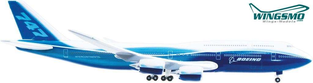Hogan Wings Boeing 747-8 Maßstab 1:500 LI8430