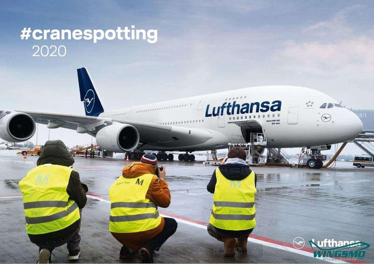 Lufthansa #Cranespotting Kalender 2020 KDDLH001