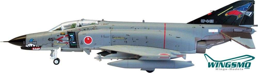 "Hogan Wings Mc Donnell F-4EJ JASDF Kai ""302SQ Special 2010"" (Black Tail) Scale 1:80 LIF7051"