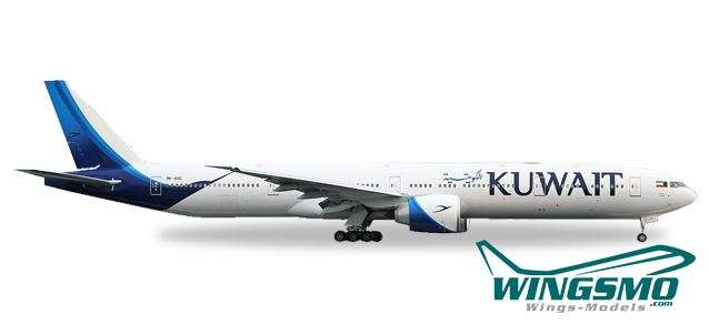 Herpa Wings Kuwait Airways Boeing 777-300ER - new colors - 9K-AOC 530750