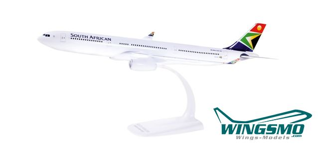 SAA A330-300 South African Airways 1:200 Herpa Snap-Fit 612074 Modell A330