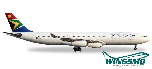 South African Airways Neu Herpa 530712-1//500 Airbus A340-300