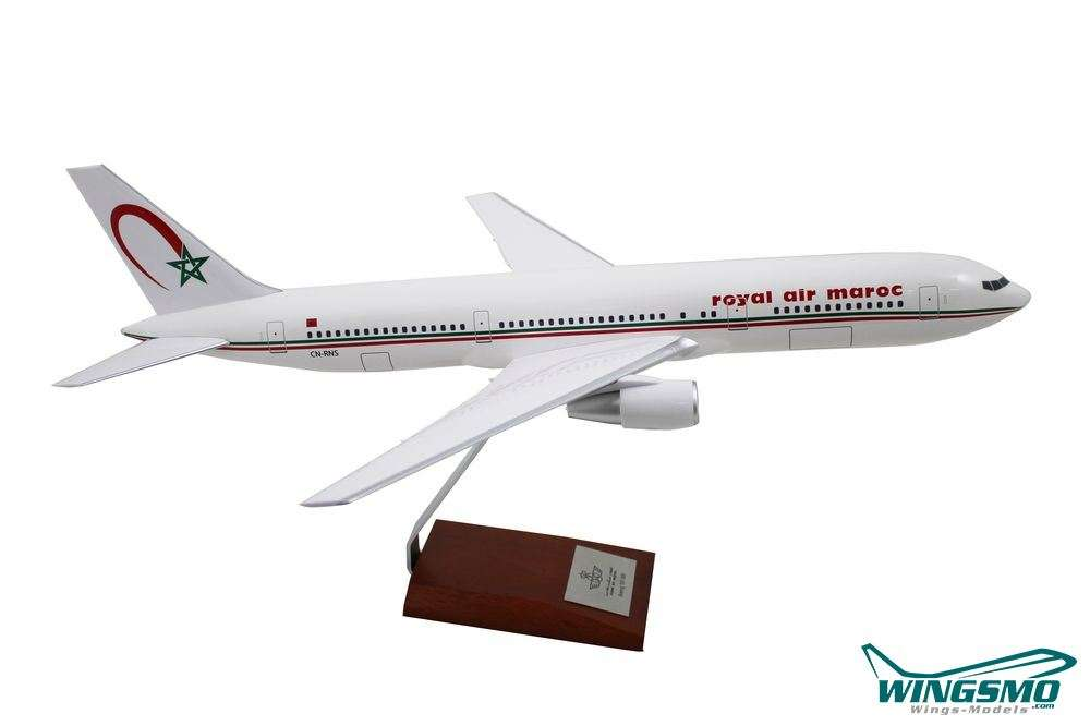Limox Wings Boeing 767-300 Royal Air Maroc Scale 1:100 LM160