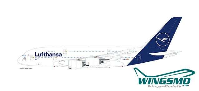 Herpa Wings Lufthansa Airbus A380 612319 Snap-Fit