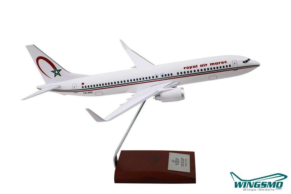Limox Wings Boeing 737-800 Royal Air Maroc Scale 1:100 LM139