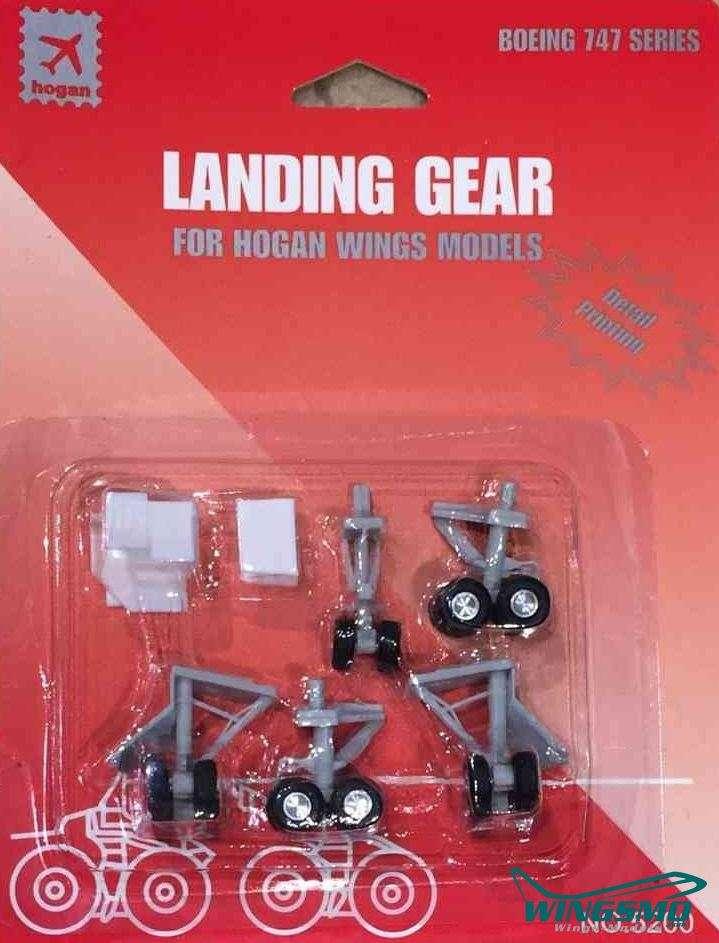 Hogan Fahrwerke Boeing 747-400 5200R