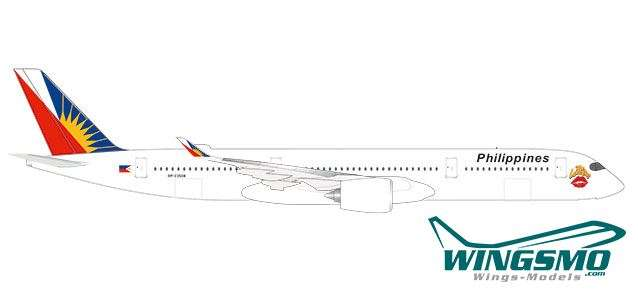 """533836 Herpa Wings 1:500 philippine airlines airbus a350-900 /""""the Love bus/"""""""