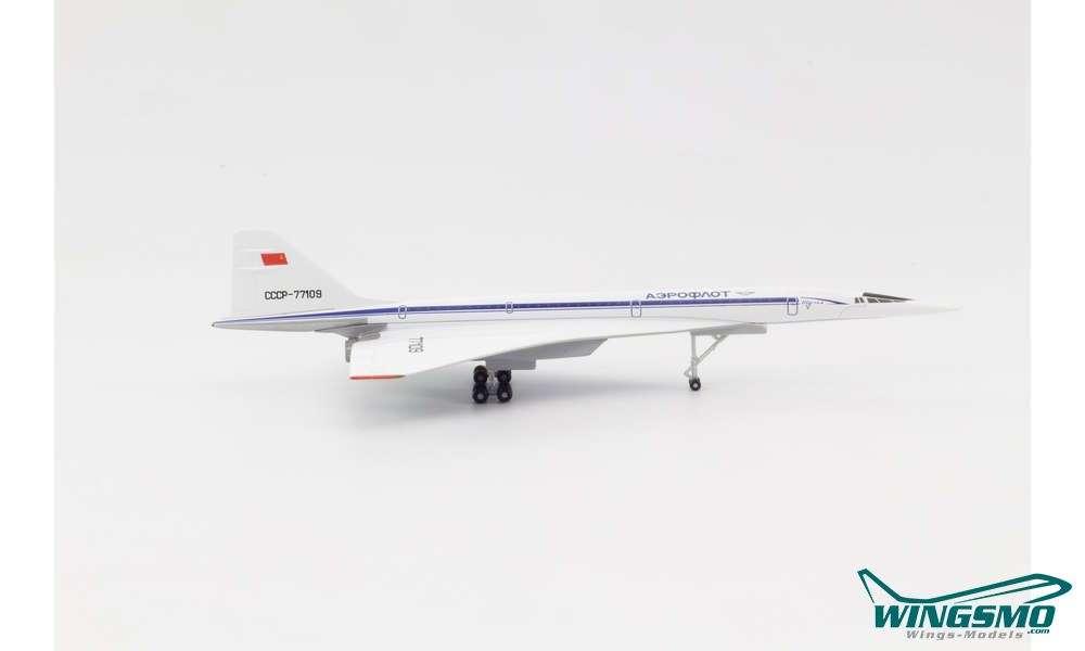 Herpa 533324-1//500 Aeroflot Tupolev TU-144S Neu