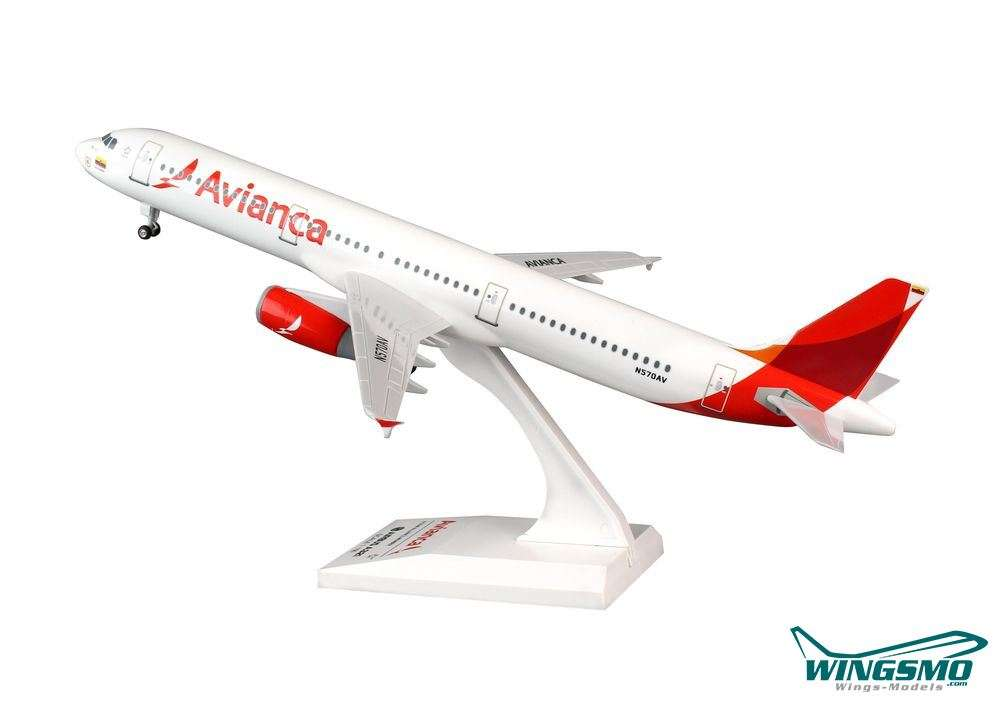 Skymarks Wings Airbus A321 Avianca Scale 1/150 w/Gear SKR801